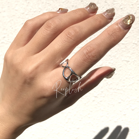 silver925 Olive Ring/size:#8-14
