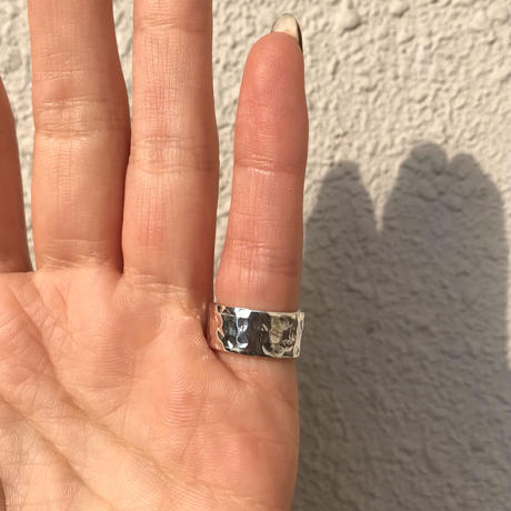 silver925 Agata Pinky ring/size:#3-7