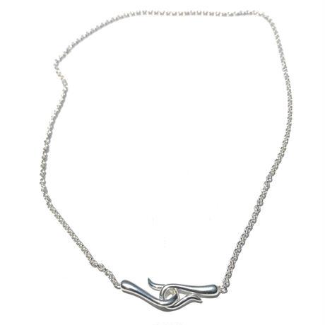 silver925 Hook Choker/40.5cm