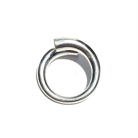 【ラスト1点/10号】silver925 Bold Swirl Ring