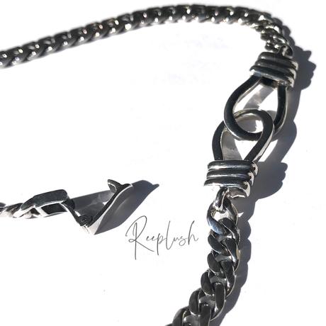silver925 Lavender Necklace /45cm