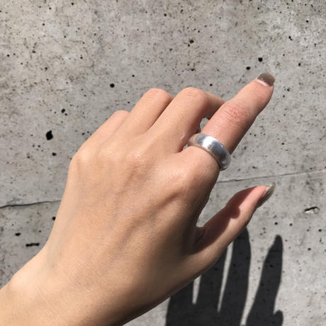 【14号ラスト1点】silver925 Matt Ring /size:#14