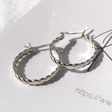 silver925 Rope Pierce<Style No.020203-99>