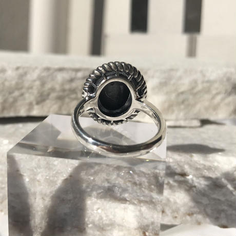 silver 925 Dune Ring  /size:#13