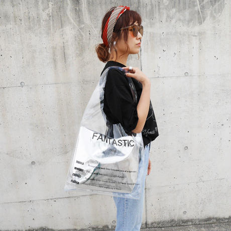 【last1】FANTASTIC PARIS PVC BAG