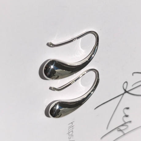 silver925 pierce - Droplet Pierce- <Style No.010904-32>