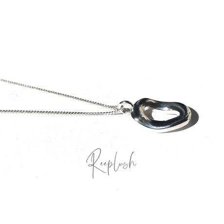 silver925 Mauve Necklace/45cm