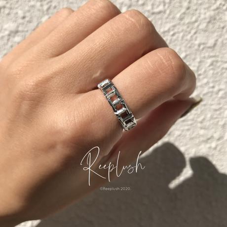 【ラスト1点15号】silver925 Glow Ring /size:15