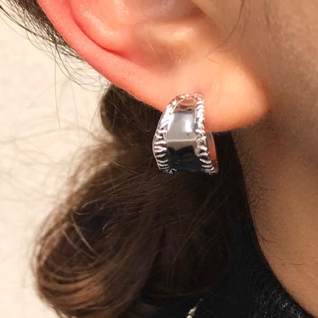 silver925 Cylindrical Pierce<Style No.020203-8>