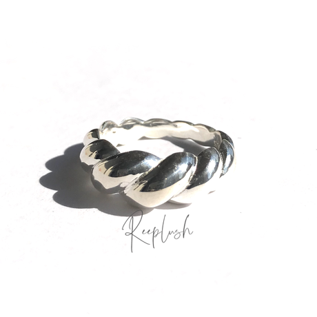 silver925 Mustard Ring/size:#13,#14