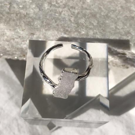 【ラスト1点】silver925  Alternate Ring /size:#9-11