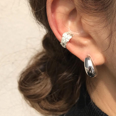 silver925 Shapeless Ear cuff〈StyleNo.020203-119〉