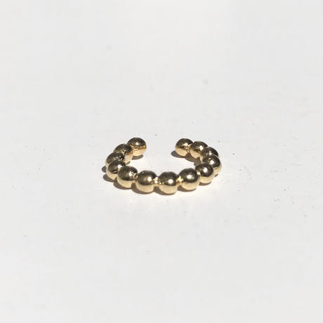 silver925 K18GP Grain Ear Cuff