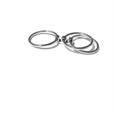 silver925 Triple Ring /size:S,M,L〈Style.No 020402-26〉
