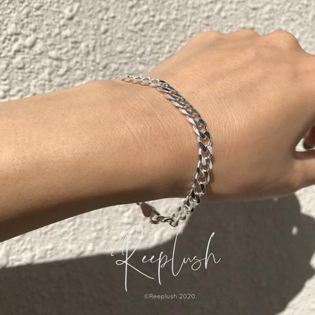 Flat Link Chain Bracelet