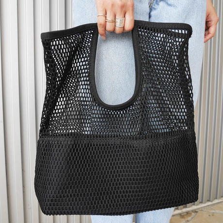 mesh hand bag 〈style No.010613-13〉