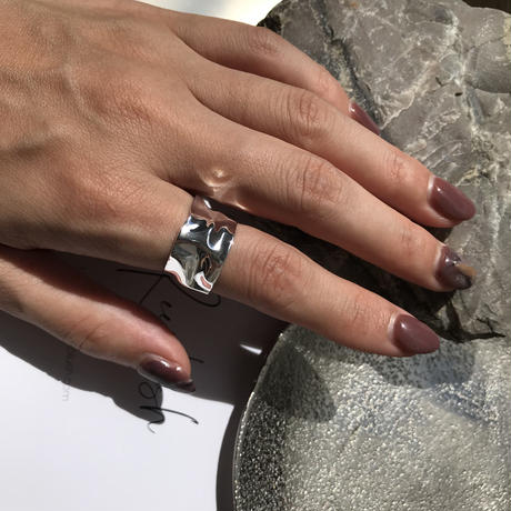 silver925 ring -Big Hammer Ring- <Style No.010904-42>  size#15程度