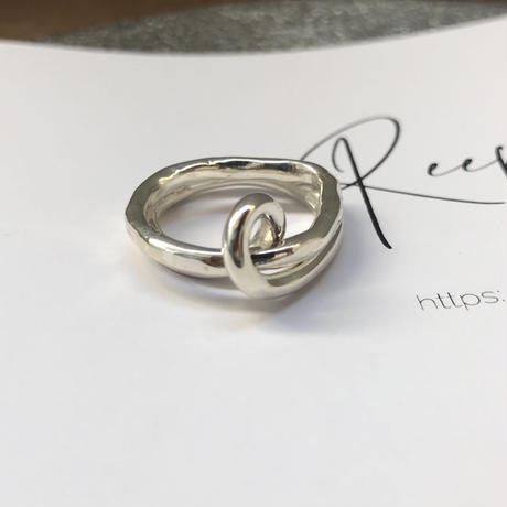 silver925 ring -fate-〈StyleNo.010724-43〉size:#12