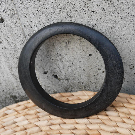 Wood Bangle/Black