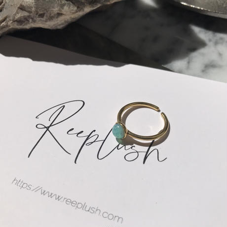 silver925 K18GP ring -Opal Ring- <Style No.010904-14>  Free size(#13程度~)