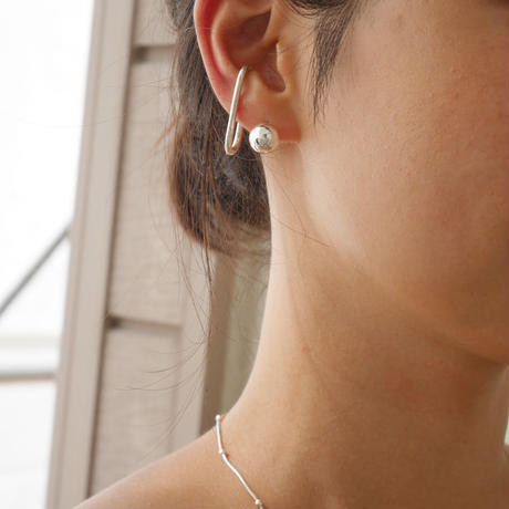 【再入荷】silver925  Silver Ball Pierce〈StyleNo.010724-19〉
