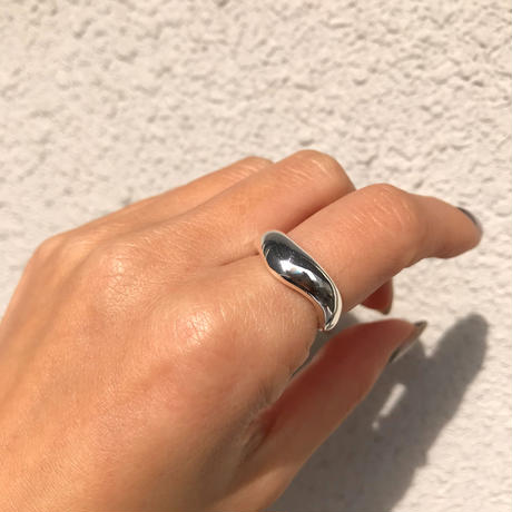 silver925 Water drop Ring /size:M〈Style.No 020203-15〉