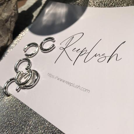 silver925  -C Earcuff-〈StyleNo.010724-48〉silver/1peace