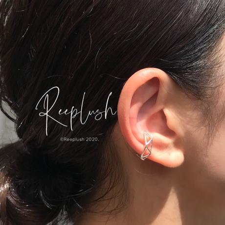 silver925 Triangle Ear Cuff