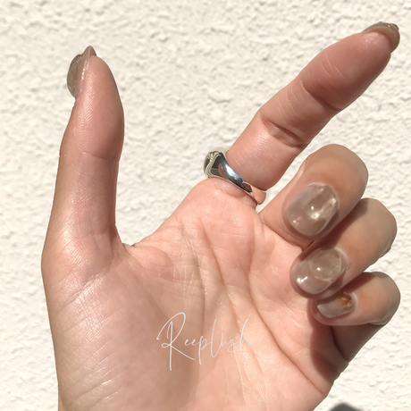 【ラスト1点/13号】silver925 Pansy Ring