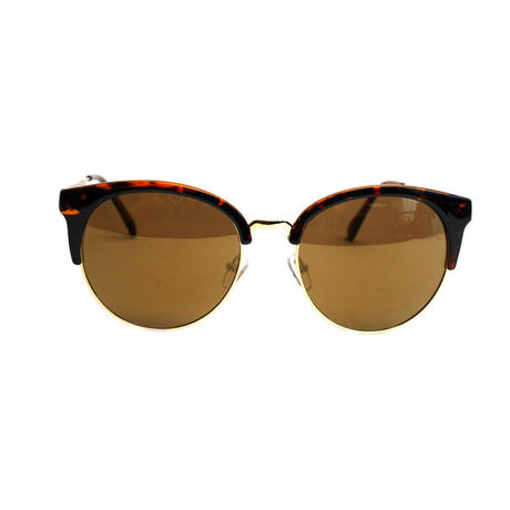 Half flame eyewear(brown)