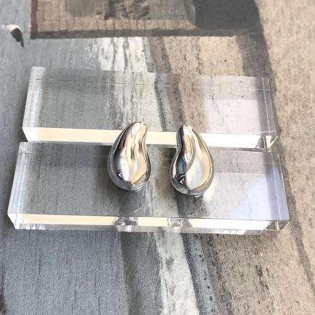 silver925  Beans Pierce