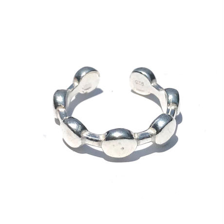【ラスト1点】silver925 Dot Open Ring/size:#7-10
