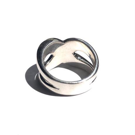 silver925 Axe Ring/size:#10-13