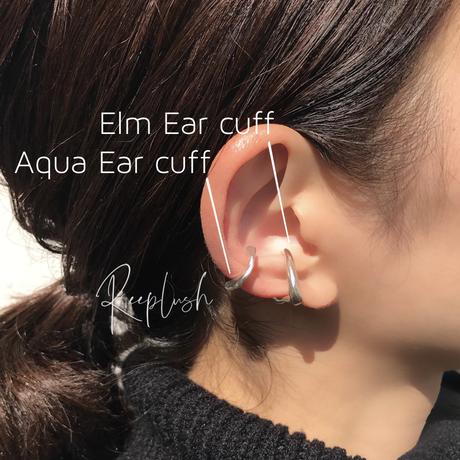 silver925 Elm Ear Cuff