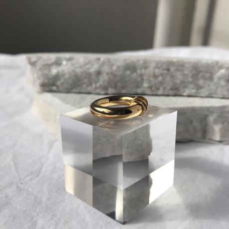 【 unisex】silver925 K18GP 4mm Earcuff