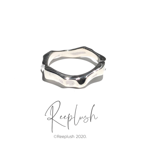 silver925 Stump Ring/size:#9,11,15