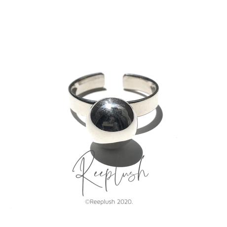 【15号ラスト1点】silver925 One Grain Ring/size:#15