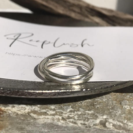 silver925 Bloom Ring /size:#13〈StyleNo.011016-34-re〉