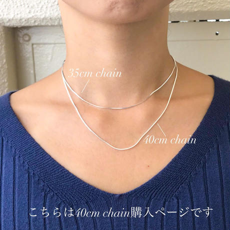silver925  -Snake Chain Necklace-〈StyleNo.010904-25-re〉Silver