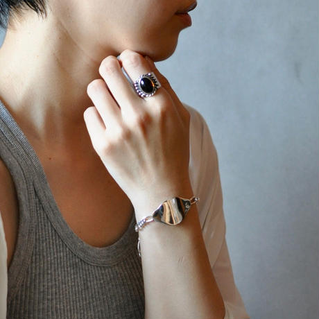 Oval Plate Id Bracelet [RC-BC002]