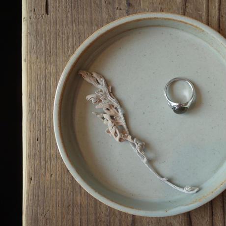Round Shell Labradorite Ring [RC-RG007]