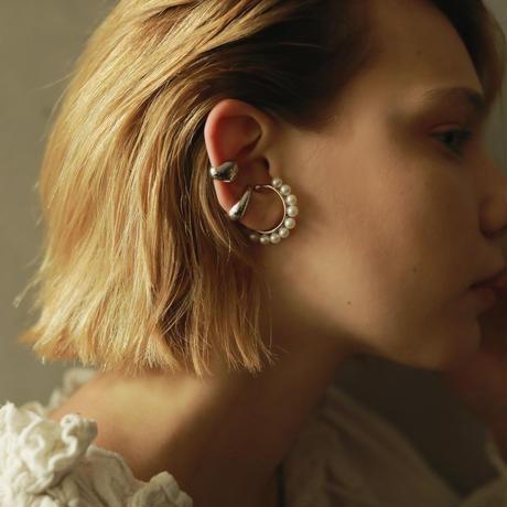 Twelve Pearl EarCuff [RC-EC013]