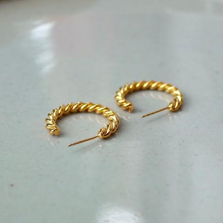 Twist Line Circle Pierce [RC-PC004]
