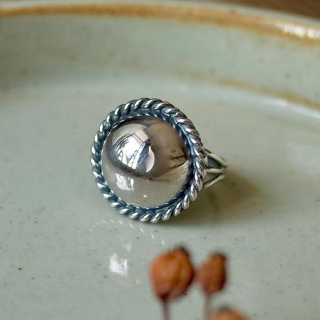 Twist Line Round Ring [RC-RG010]