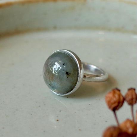 Round Labradorite Ring [RC-RG006]