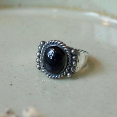 Ten Pointed Onyx Ring [RC-RG008]