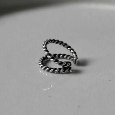 Two Strands Twist EarCuff [RC-EC005]