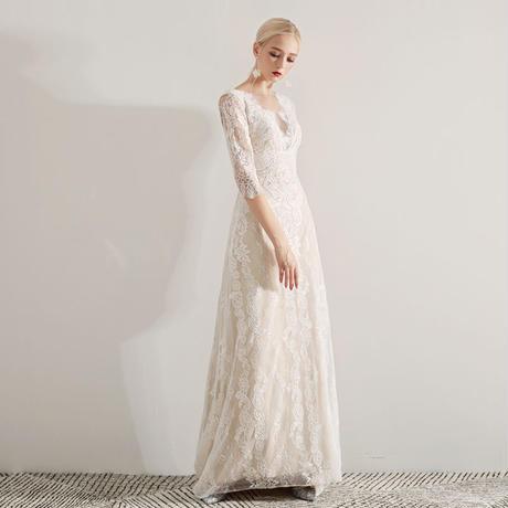 花嫁 パーティー ドレス 結婚式 ウエディング ドレス
