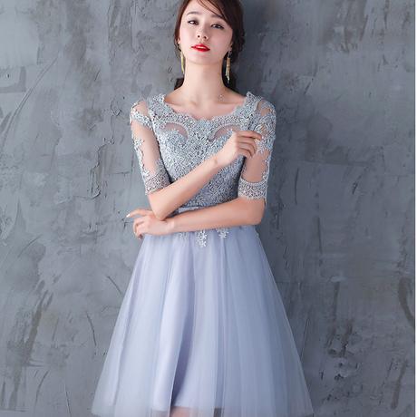 スリム イブニングドレス  結婚式 お呼ばれ 上品 エレガント ドレス