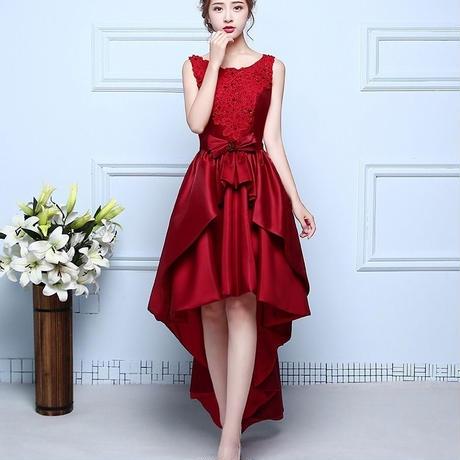 フィッシュテール スカート  パーティ 大人かわいい ドレス ワンピース